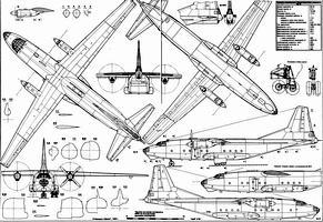 Антонов Ан-8 чертежи