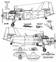 Антонов Ан-2CX чертежи