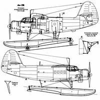 Антонов Ан-2B чертежи