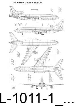 Lockheed L-1011-1 Tristar чертежи